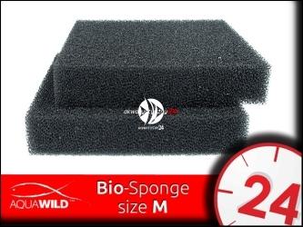 AQUAWILD Bio-Sponge [M] (BIOSM255) - Średnia gąbka filtracyjna o o perfekcyjnej przepuszczalnej strukturze.