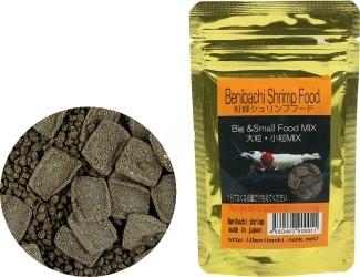 BENIBACHI Gold Shrimp Food 50g (b4BENIGSF50) - Najwyższej jakości pokarm dla krewetek odmian cardina