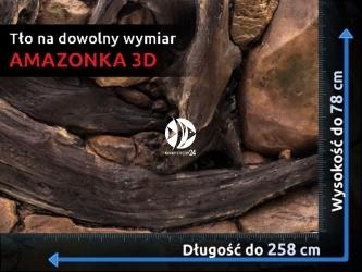 EKOL Tło na wymiar Amazonka - Tło pod dowolny wymiar, cena za 1m²