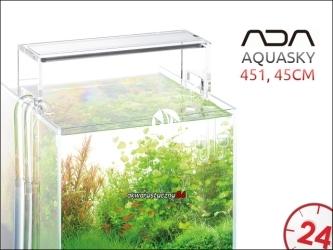 ADA AQUASKY LED 451 [45cm] - Energooszczędna i prestiżowa belka oświetleniowa do akwarium roślinnego.