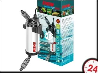 EHEIM reeflexUV 500 (3722210) | Efektywny sterylizator UV z wydajnym refleksem promieni ultrafioletowych do akwarium