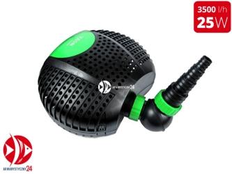 AQUA NOVA NFP-3500 | Energooszczędna pompa do oczka wodnego z dużym prefiltrem