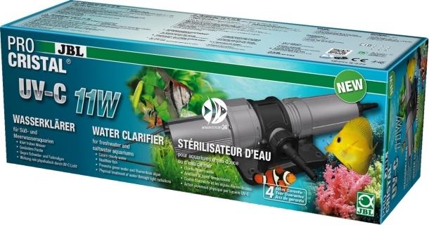 JBL ProCristal UV-C 11W (60366) - Sterylizator do szybkiego usuwania zmętnienia wody