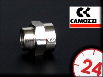 CAMOZZI Złączka metalowa 14W18W (162-2553-18-14) - Łączy reduktor i Elektrozawór BMV