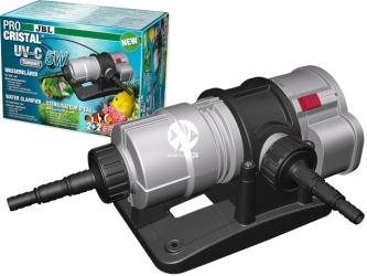 JBL Pro Cristal UV-C Compact 5W (60394) - Sterylizator do szybkiego usuwania zielonej wody w akwarium