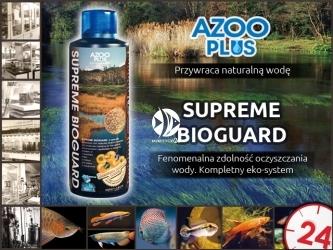 AZOO Supreme Bioguard - Doskonały i kompletny ekosystem w 1 butelce.