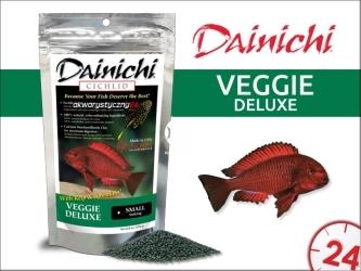 DAINICHI CICHLID Veggie Deluxe Sinking (500g) small | Pokarm specjalny dla pielęgnic roślinożernych