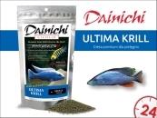 DAINICHI CICHLID Ultima Krill Sinking (250g) baby | Doskonale zbilansowany pokarm wspomagający szybki wzrost i prawidłowy rozwój pielęgnic