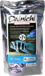DAINICHI Cichlid XL Pro Floating (2713) - Pływający pokarm dla solidnych ryb jak Frontosa, Haplochromis, czy pielęgnic z rejonu Ameryki Środkowej