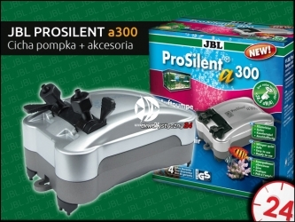 JBL PROSILENT a300 - Cicha pompka napowietrzająca