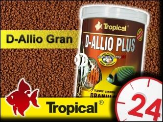 TROPICAL D-ALLIO PLUS GRANULAT 600g/1L | Wieloskładnikowy pokarm granulowany z czosnkiem