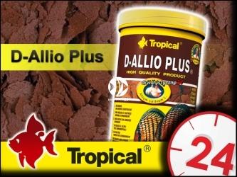 TROPICAL D-ALLIO PLUS - wieloskładnikowy pokarm płatkowany z czosnkiem