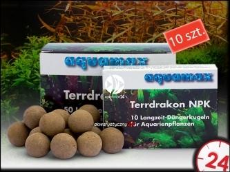 AQUAMAX TERRDRAKON NPK 10 sztuk (009) - Doskonała glina dla Twojego akwarium