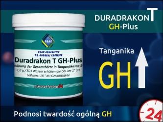 DRAK-aquaristik Duradrakon T GH-Plus 100g (Puszka) - Mieszanka soli do zwiększania twardości całkowitej GH w zbiornikach Tanganika
