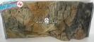 EKOL Tło STANDARD (ST50x30) - Tło uniwersalne do akwarium, zawiera motywy skał i korzeni 80x40 cm