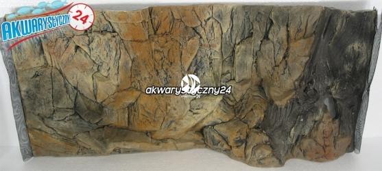 TŁO STRUKTURALNE 80x40 cm - Motyw mieszany, skała i korzeń.