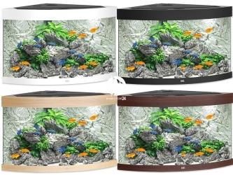 JUWEL TRIGON 190 LED (16350) - Akwarium z pełnym wyposażeniem bez szafki, 4 kolory do wyboru