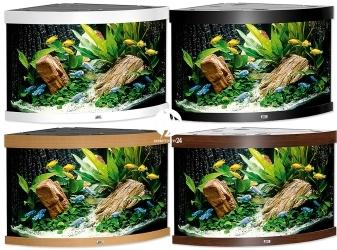 JUWEL TRIGON 350 LED (15350) - Akwarium z pełnym wyposażeniem bez szafki, 4 kolory do wyboru