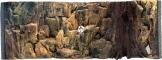 EKOL Tło Standard (ST50x30) - Tło uniwersalne do akwarium, zawiera motywy skał i korzeni 100x40 cm