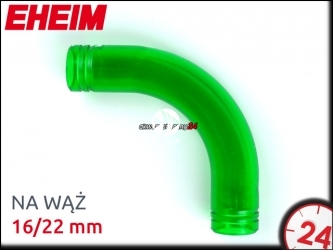 EHEIM KOLANKO NA WĄŻ 16/22mm (4015100) - Kolanko na wąż 16/22mm, do akwarium