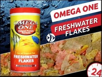 OMEGA ONE FRESHWATER FLAKES 62g