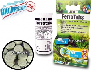 JBL Ferrotabs - nawóz w tabletkach 30szt.