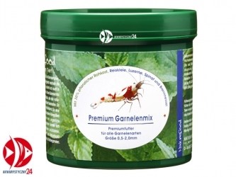 Naturefood Premium Garnelenmix 55g | Pokarm dla wszystkich krewetek