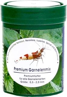 NATUREFOOD Premium Garnelenmix - Tonący pokarm dla wszystkich krewetek