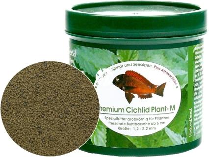 NATUREFOOD Premium Cichlid Plant (37510) - Tonący pokarm dla wszystkich roślinożernych pielęgnic