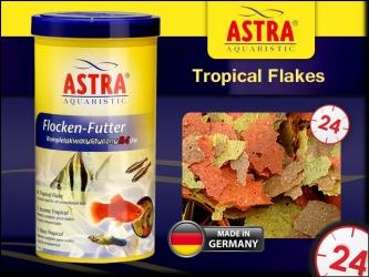 ASTRA Tropical Flakes 100ml | Podstawowy pokarm w płatkach dla wszystkich ryb ozdobnych.