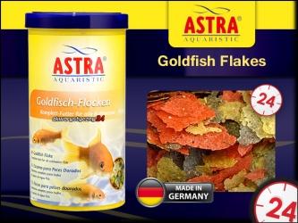 ASTRA Goldfish Flakes 1000ml | Kompletna dieta dla złotych rybek i innych zimnolubnych ryb w akwarium