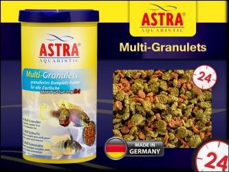 ASTRA-aquaristik Multi-Granulets - Pływające granuletki dla wszystkich ryb ozdobnych.