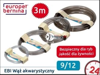 EBI Wąż akwarystyczny 9/12mm / Zawieszka 3m (221-102909)