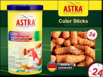 ASTRA-aquaristik COLOR STICKS 1L - Wybarwiające pałeczki dla ryb stawowych