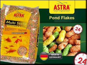 ASTRA-aquaristik MULTI STICKS 15L - Różnorodny mix pokarmów w pałeczkach dla ryb stawowych