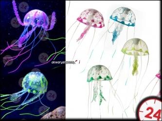 AQUA DELLA JELLYFISH Small [234-418956] | Piękna dekoracyjna meduza, która unosi się w wodzie.