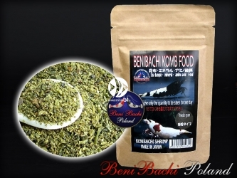 BENIBACHI Komb Food 50g (c1BENIKF50) - Obfity w składniki mineralne pokarm z wodorostów Kelp.