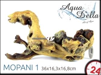 AQUA DELLA MOPANI 1 [234-421109] | Ręcznie malowany, sztuczny korzeń mopani do akwarium