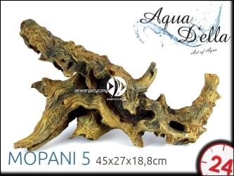 AQUA DELLA MOPANI 5 [234-421147] | Ręcznie malowany, sztuczny korzeń mopani do akwarium