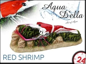 AQUA DELLA RED SHRIMP [234-418659] | Ręcznie malowana czerwona krewetka do akwarium