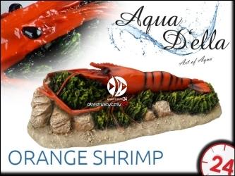 AQUA DELLA ORANGE SHRIMP [234-418666] | Ręcznie malowana pomarańczowa krewetka do akwarium