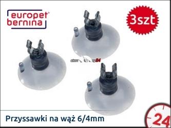 EBI Przyssawka na wąż 6/4mm (3 sztuki) (222-103197)