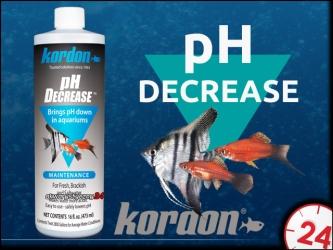 KORDON pH DECREASE 473ml | Preparat do obniżania odczynu pH