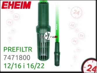 EHEIM Prefiltr (7471800) | Prefiltr na wlot filtra 12/16 i 16/22, do akwarium