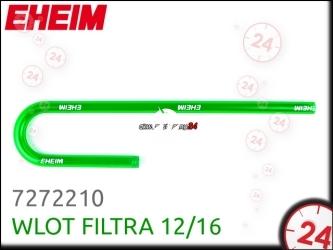 EHEIM Wlot filtra (7272210) | Rurka do zalewania filtra 12/16, do akwarium