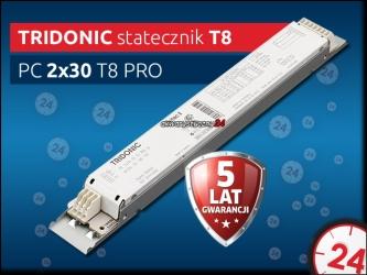 TRIDONIC Statecznik Elektroniczny T8 2x30W PC PRO