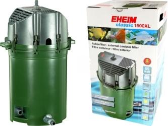EHEIM Classic 1500 (2260) + 18L AZOO Active Filter 4in1 (2260010) - Filtr zewnętrzny z wkładami do akwarium 300-1500l