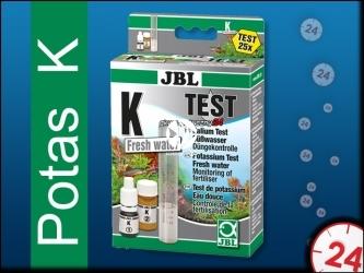 JBL Test na Potas (K) | Przeznaczony o wody słodkiej, wystarcza na 25 pomiarów.