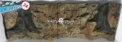 EKOL Tło STANDARD (ST50x30) - Tło uniwersalne do akwarium, zawiera motywy skał i korzeni 150x60 cm