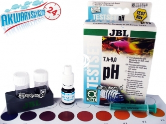 JBL Test pH 7,4-9,0 - Zastosowanie Malawi Tanganika Sulawesi.